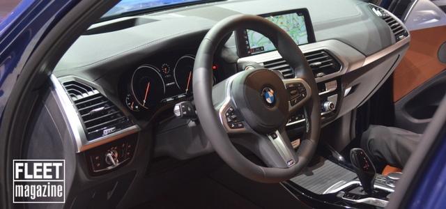 Gli interni di BMW X3 al Salone di Francoforte 2017