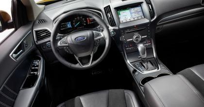 interni allestimento Sport prova Ford Edge 2016