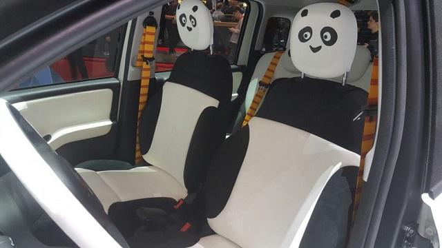 interni di Fiat Kung Fu Panda