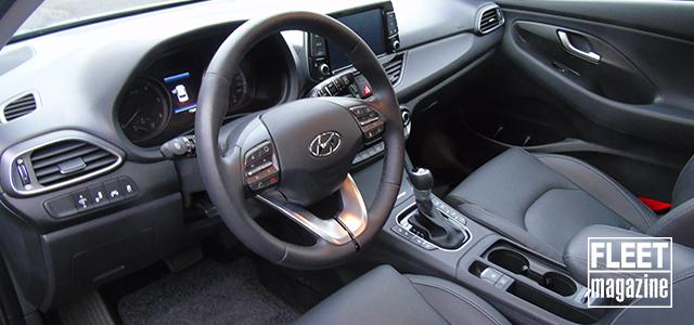 interni Hyundai i30 Wagon