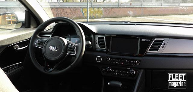 Interni nuova Kia Niro Plug-in Hybrid