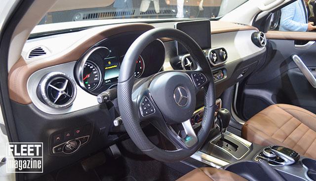 Interni Mercedes Classe X