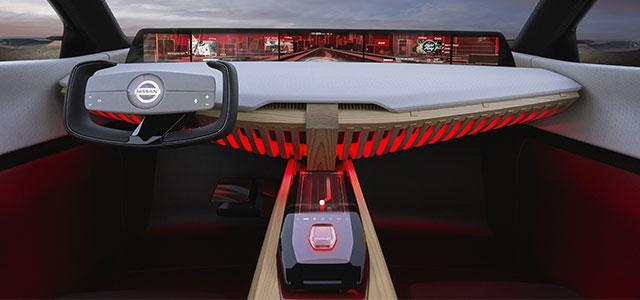 interni Nissan Xmotion