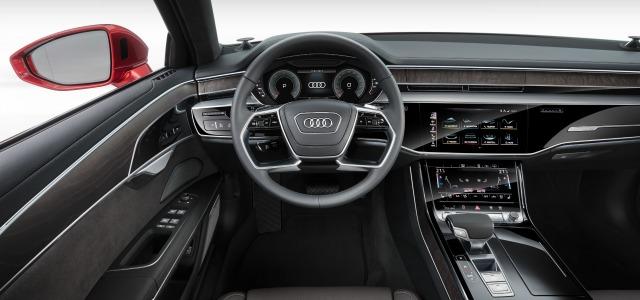 interni nuova Audi A8