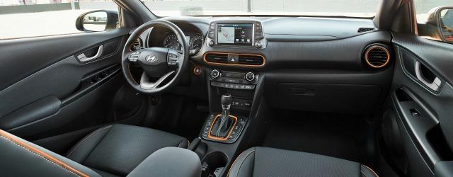 interni nuova Hyundai Kona 2017