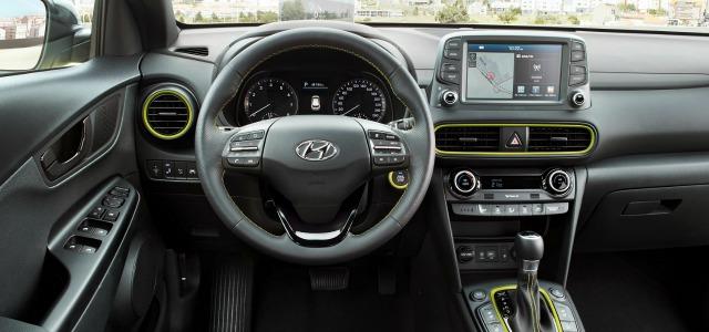 Gli interni della nuova Hyundai Kona