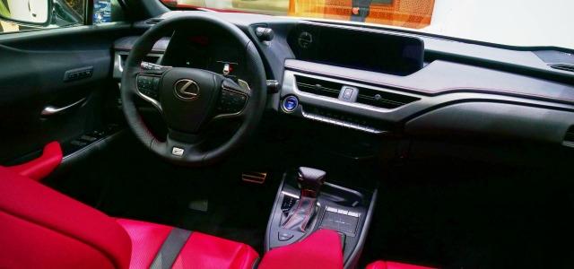 interni nuova Lexus UX 2019