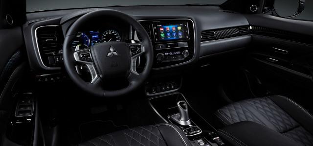 interni nuova Mitsubishi Outlander Phev 2019