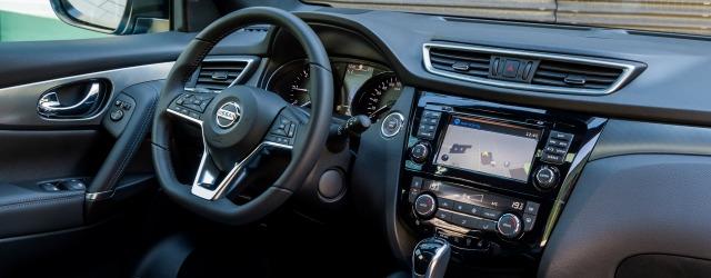 interni nuova Nissan Qashqai 2018