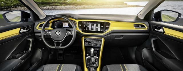 interni nuova Volkswagen T-Roc 2017