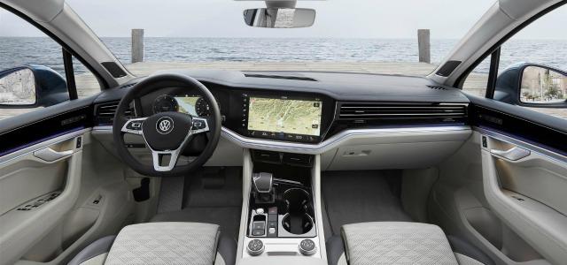 interni nuova Volkswagen Touareg 2018