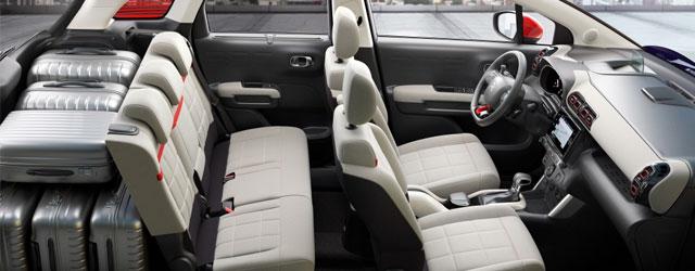 Gli interni della nuova Citroën C3 Aircross