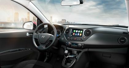 Gli interni della nuova Hyundai i10 2017