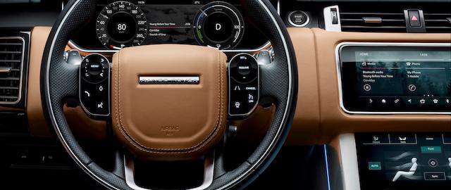 Gli interni della nuova Range Rover Sport 2018 Plug-in Hybrid