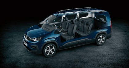 interni nuovo Peugeot Rifter 2018