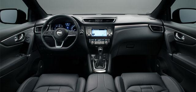 interni del nuovo Nissan Qashqai