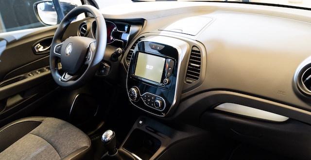 interni del nuovo Renault Captur Sport Edition
