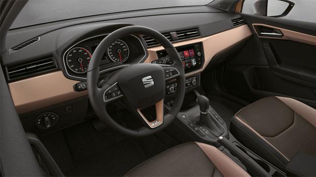interni Seat Ibiza 2018