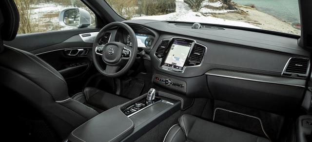 Gli interni di Volvo XC90