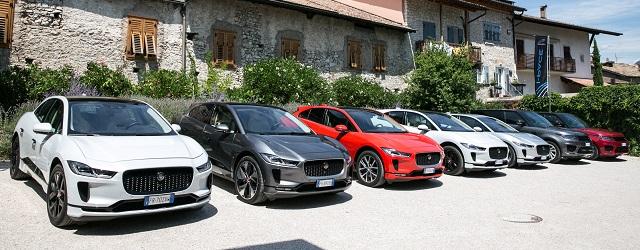 Alberghi e hotel sono destination charching di Jaguar