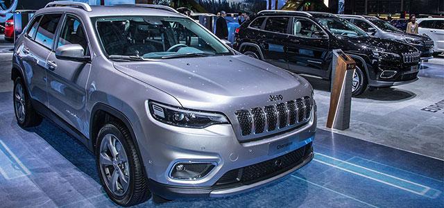 Jeep Cherokee al Salone di Ginevra 2018