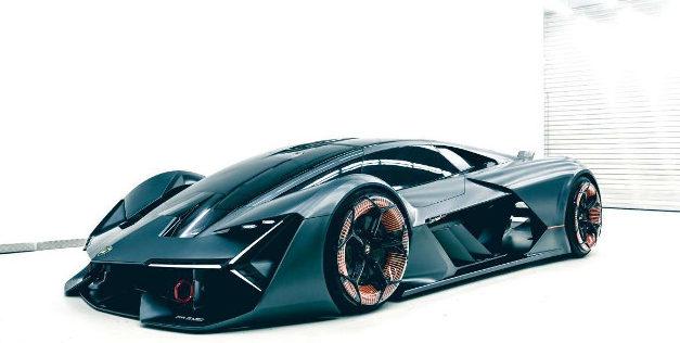 Lamborghini Terzo Millennio supercar elettrica