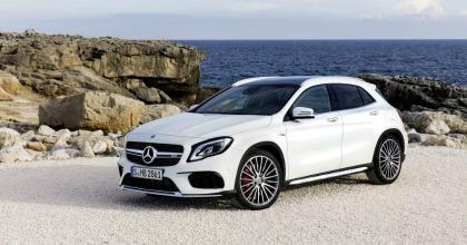 lancio nuova Mercedes GLA 2017