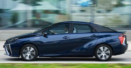 lancio nuova Toyota Mirai