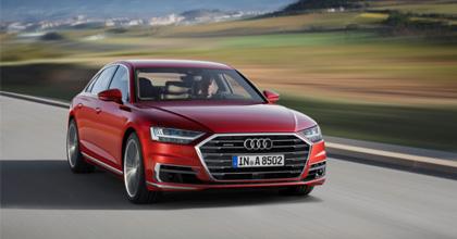 Lancio nuova Audi A8 2018