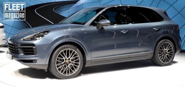 vista laterale nuova Porsche Cayenne