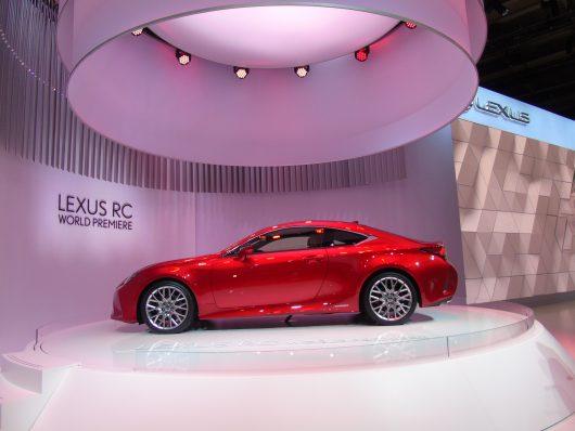 Lexus RC 2019 il restyling al Salone di Parigi
