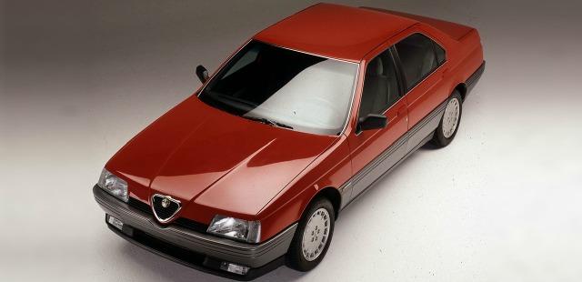 Le linee della Alfa Romeo 164