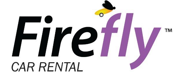 Il logo del marchio di noleggio low cost Firefly