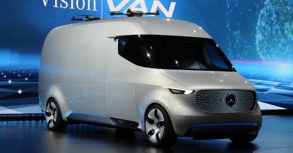 Al CES Las Vegas 2017 Il furgone Vision Van di Mercedes
