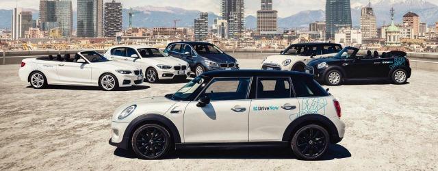 Milano flotta car sharing DriveNow