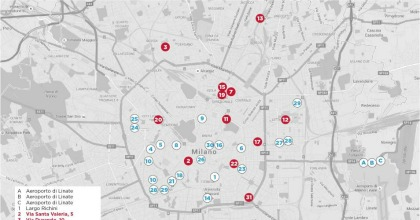 Milano mappa colonnine fast charge