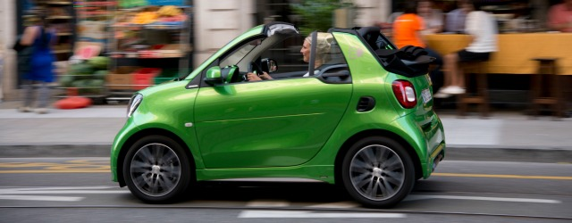 smart fortwo electric drive è ideale anche per la mobilità urbana