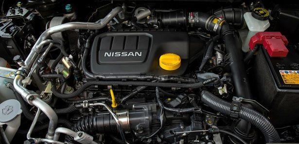 Il motore della Nissan X-Trail