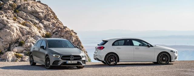 motori nuova Mercedes Classe A 2018