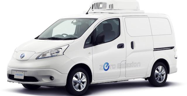 Nissan e-NV200 e-Fridge