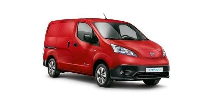 Nissan e-NV200 veicolo commerciale elettrico più venduto del 2016 in Europa