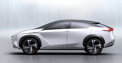 Nissan IMx concept laterale