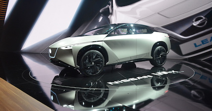 Nissan IMx Concept al Salone di Ginevra 2018