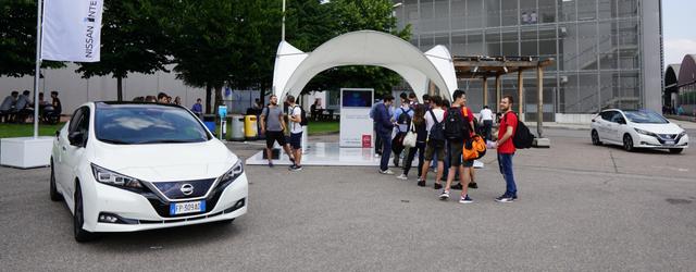 Nissan Intelligent Mobility guida autonoma