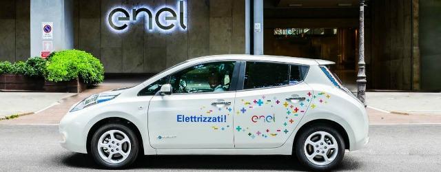 Nissan LEAF per il car sharing elettrico