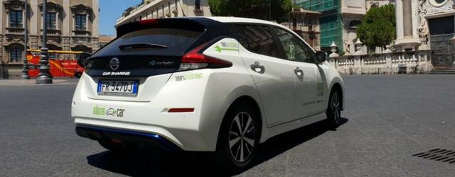 Nissan LEAF per il progetto Italy Green Tour
