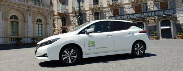 Nissan LEAF a zero emissioni