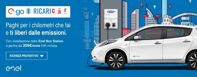 noleggio auto elettriche ALD Automotive Enel