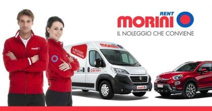 il noleggio auto e furgoni di Morini Rent