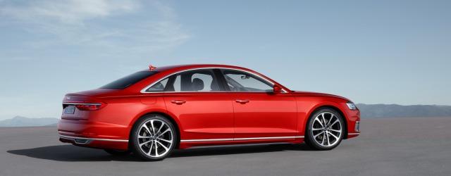 nuova Audi A8 2018